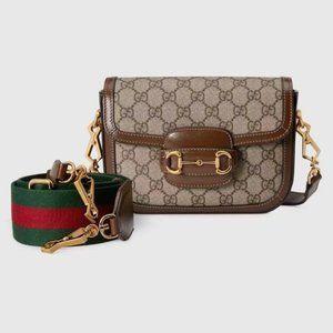 Gucci new horsebit saddle bag